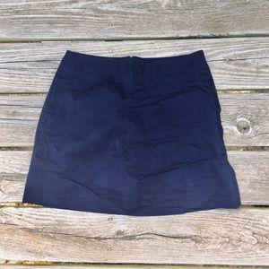 Navy Blue Adidas Skort